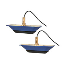 LOWRANCE StructureScan HD Bronze Thru-Hull Transducer - Pair
