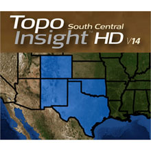 LOWRANCE  Topo Insight HD, South Central, v14