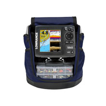 LOWRANCE Elite-5 CHIRP Ice machine w/83/200 kHz Ice transducer and PPP-18I portable kit