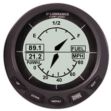 LOWRANCE LMF%2D400 Multi %2D Function Gauge w and out Sensor
