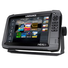 LOWRANCE HDS%2D9 GEN3 Insight w and 83 and 200 Transducer
