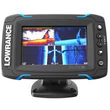 LOWRANCE Elite-5 Ti Touch C-Map Pro with TotalScan Transducer