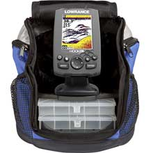 LOWRANCE Hook%2D3X All Seasons Pack with two transducers