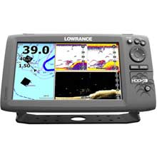 LOWRANCE Hook-9 with Transducer and Navionics plus maps