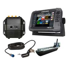 LOWRANCE HDS%2D7 Gen3 insight Mid and High and 3D bundle