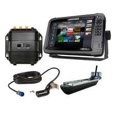 LOWRANCE HDS-9 Gen3 insight Mid/High/3D bundle