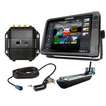 LOWRANCE HDS-12 Gen3 insight Mid/High/3D bundle