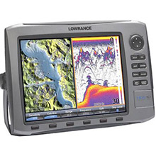 LOWRANCE HDS 10 Base Multifunction with 83 and 200 kHz Transducer