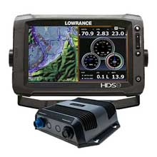 LOWRANCE HDS%2D9 GEN2 Touch Insight w and SonarHub