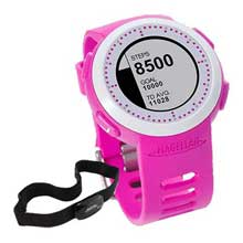 Magellan Echo Fit Sports Watch w and HRM Pink