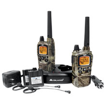 MIDLAND GXT895VP4 42 Channel GMRS Radios - Camo
