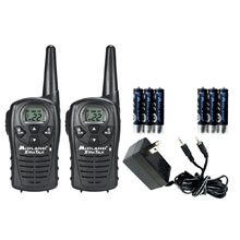 MIDLAND LXT118VP 22 Channel GMRS Radios with Charging Kit