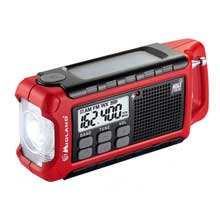 MIDLAND ER210 emergency crank radio w and AM and FM and weather alert