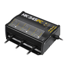 MINN KOTA MK-345PC Precision Digital Charger 3 Bank x 15 Amps