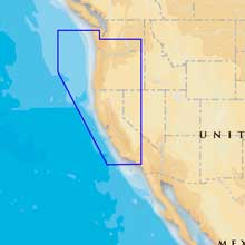 NAVIONICS Platinum plus - Oregon and California - microSD/SD