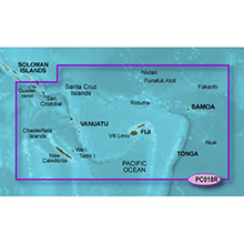 GARMIN New Caledonia to Fiji, (HXPC018R), g2 HD map on SD card