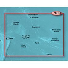 GARMIN Polynesia, (HPC019R), g2 map on Datacard