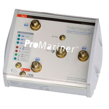 PROMARINER ProIsoCharge Battery Isolator 130 Amp 2%2DAlt 4%2DBat %2D 12V