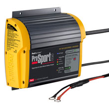PROMARINER ProSport 6 PFC Gen 3 Heavy Duty Recreational Series On%2DBoard Marine Battery Charger %2D6 Amp %2D1 Bank