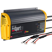 PROMARINER ProSport 20 PFC Gen 3 Heavy Duty Recreational Series On%2DBoard Marine Battery Charger %2D20 Amp %2D2 Bank