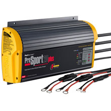 PROMARINER ProSport 20 PFC Gen 3 Heavy Duty Recreational Series On%2DBoard Marine Battery Charger %2D20 Amp %2D3 Bank