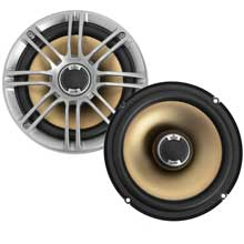 PolkAudio Audio DB651 65 inch coaxial speakers %2D pair silver