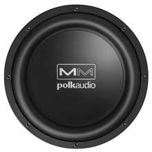 POLK AUDIO Audio MM1040UM 10 inch subwoofer