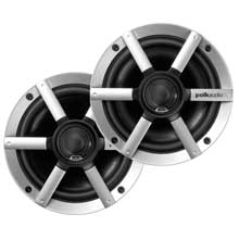 POLK AUDIO Audio MM651UMBS 65 inch coaxial speaker %2D Pair black and silver