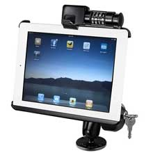 RAM Apple iPad Screw Down Swivel Locking Mount