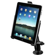 RAM Apple iPad Long Arm Screw Down Swivel Mount