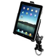 RAM Apple iPad 2 3 4 Steel U%2DBolt Rail Mount