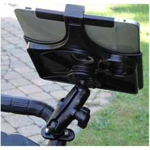 RAM Apple iPad Motorcycle Mount Zinc