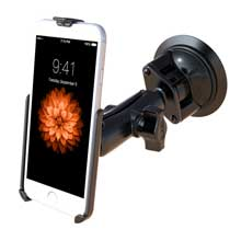 RAM Twist Lock Suction Cup Mount for the Apple iPhone 6 WITHOUT CASE, SKIN OR SLEEVE