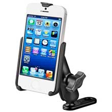 RAM Apple iPhone 5 Offset Motorcycle Mount