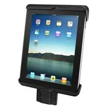 RAM Tab-Lock Model Specific Sync, Lock Cradle for the Apple new iPad, iPad 2 WITHOUT CASE, SKIN OR SLEEVE