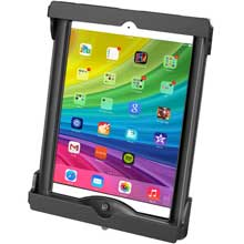 RAM Tab-Lock Locking Cradle for the Apple iPad Air 1-2, 9.7 inch Tablets WITH CASE, SKIN OR SLEEVE