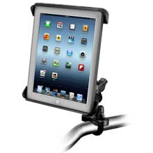 RAM Mount tab-tite iPad / HP TouchPad cradle handlebar rail mount