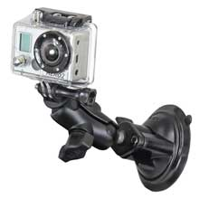 RAM Mount GoPro hero short arm suction cup mount
