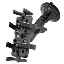 RAM Mount universal finger grip holder suction cup mount