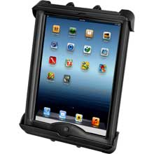 RAM Mount Tab-Tite universal clamping cradle for Apple iPad w/lifeproof, lifedge cases