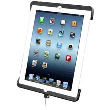 RAM Mount TAB-DOCK sync cradle for 4th generation Apple iPad w/lighting connector, w/o case
