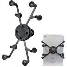 RAM Mount X-Grip universal tablet holder with 1 inch ball