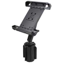 RAM Tab-Tite-3 Apple iPad Long Arm Vehicle Cup Holder B-Ball Mount