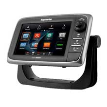 RAYMARINE E7,7 inch GPS/MFD with Europe C-Map Essentials