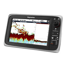 RAYMARINE C97 9 inch Multi%2DFunction Display and Sonar with US Coastal Charts