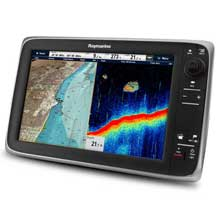 RAYMARINE C125 MFD w/ C-Map U.S. Essentials
