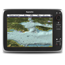 RAYMARINE C125 12 inch MFD, Keypad, No Map