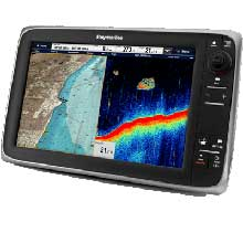 RAYMARINE C127 MFD/Sonar w/ C-Map ROW Essentials