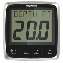 RAYMARINE I50 Depth w/ Thru-Hull Transducer