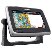 RAYMARINE A77 MFD with 50/200KHz Plotter/Sounder,WiFi,No Charts